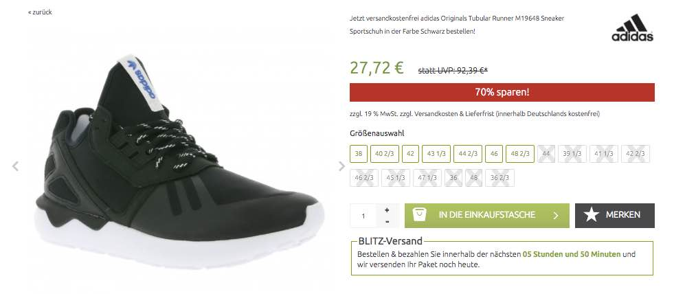 adidas originals tubular in schwarz
